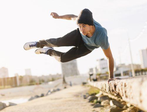 Terränglöpning, parkour och andra utomhusaktiviteter
